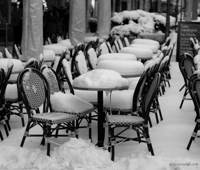 too cold for coffee by outys