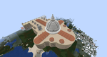 Minecraft - St. Peters, Rear-view by MinecraftArchitect90