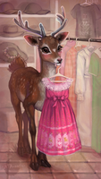 Cute pink dress by NATAnatfan