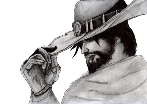 Overwatch - McCree by KaeltheArchon