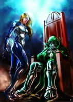Invisible Woman Dr Doom by cric