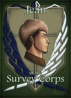 Jean Kirschtein of the Survey Corps by Naariel