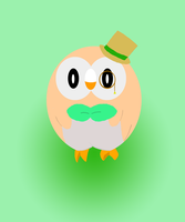 Rowlet by Foxterale
