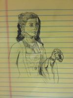 Doctor Who - Madame de Pompadour Sketch by Timetower