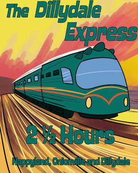 Dillydale Express Poster by Percyfan94