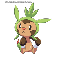 My Favorite Grass Type 2014- Chespin