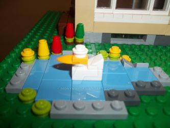 LEGO's duck by Monymaii