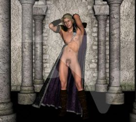Naked Atrian by dchan07
