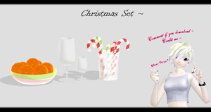 [MMD] Christmas Set DL ~ by o-DSV-o