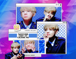 BTS | TAEHYUNG (V) | PACK PNG by KoreanGallery