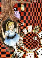Alice Enters Wonderland by sockstealingnome