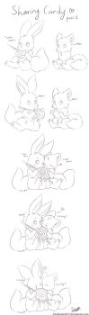 Sharing candy #1 by FireEagle2015