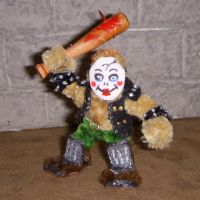 Dollface Psycho Mini with Bat by the-gil-monster
