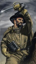 Nathan Bedford Forrest by JohnnyShumate