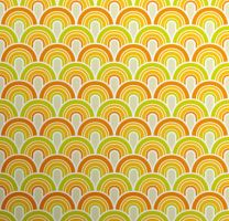 Fifties Wallpaper Pattern by AssEyeDee