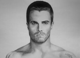 Oliver Queen (Stephen Amell) from Arrow TV Series by BORJICH