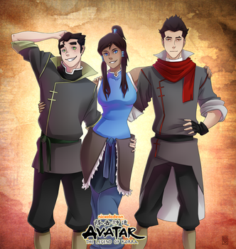 The Legend of Korra by MexRated