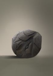 Material Study 2 : Rock by pixg