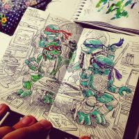 tmnt by MIRRORMASTER