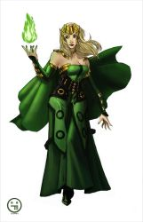 Enchantress Marvel Cinematic Universe by AndrewKwan