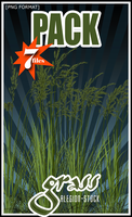 Grass PNG Stock Pack by Alegion-stock