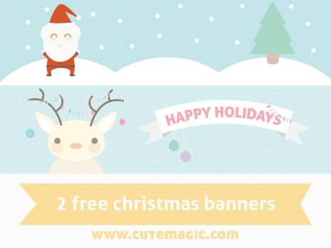 Christmas Banners by apparate