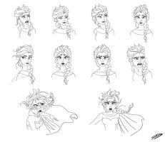 Elsa Expressions by ElyGraphic