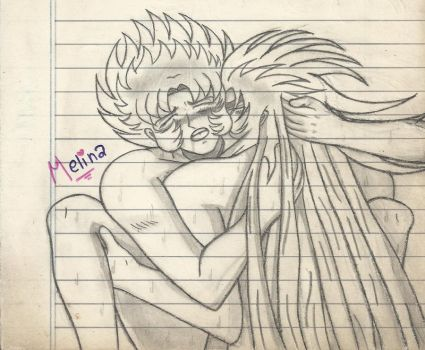 Saint Seiya: Saga x Shura 2 by PrincessPop13