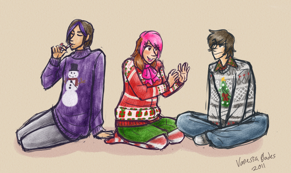 Ugly Sweater Squad by Senav