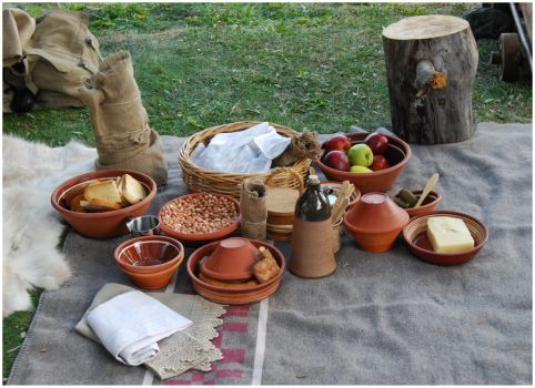 Medieval Meal by Eirian-stock