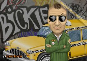 Travis Bickle (Taxi Driver) by Jalpal