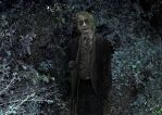 Joker's Ghost in the Forest (up close) by TheDevinciOfOurTime