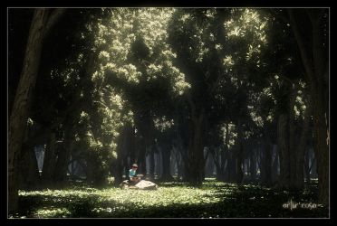 Reading Place II by ArthurBlue