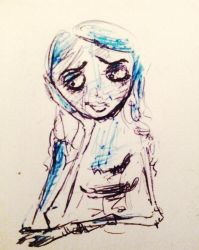 Corpse Bride.. by theloverofTMI