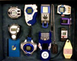 Digivice Collection by Devkyu