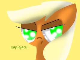 Applejack by theshadowpony357