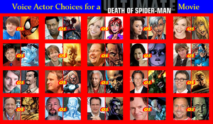 Death of Spider-Man Fancast by Anicomicgeek