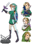 Twilight Princess Link Study (9 5 2018) by theskywaker