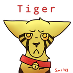 (NOT MY OC) Tiger by Smileyme2