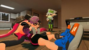 Mini Callie's revenge! by TheMythicalMatty