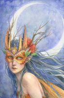 Midnight Warrior by thedreamflier