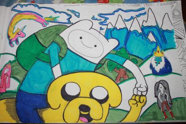 Adventure Time by kahlil-ARTist