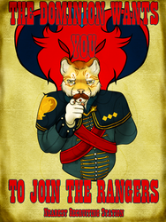 Dominion Rangers Recruitment Poster ~CoI by Silverfallingstar