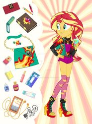 Equestria Girls Purse Meme: Sunset Shimmer by SapphireGamgee