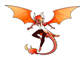 [CLOSED] Solar Demon Adoptable by Res0nare
