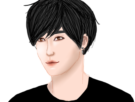 Wannabe-Suga, but more like Jin..(or JB from Got7) by martigyumi