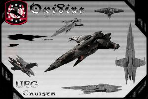Ovidius Class Cruiser(Yorktown Model) by samurairyu
