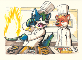 Cooking 101 by pandapaco