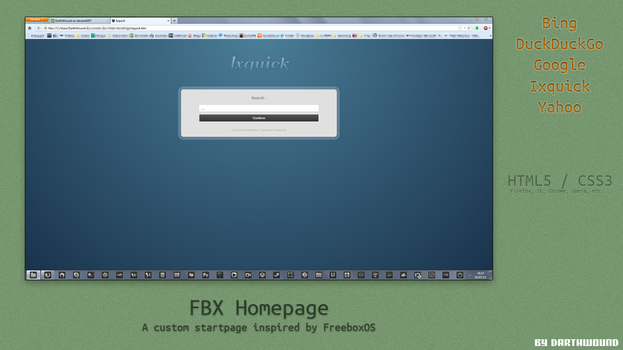 FBX HomePage by DarthWound