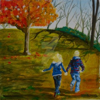 Friends of Autumn by LynSmall